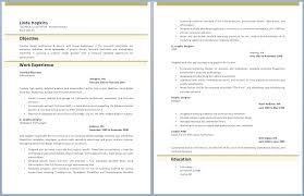 Resume With Photo Template Kantosanpo Com
