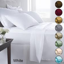 6 piece luxurious ultra soft sheet set