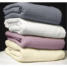 thermal cotton blanket. Santa Clara Cotton Thermal Blankets Blanket O