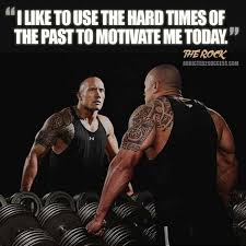 motivational fitness the rock quote