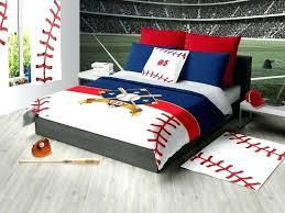 image 0 duvet covers linen personalized baseball bedding