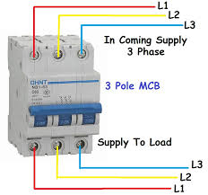 3 phase circuit breaker diagram for pole mcb mccb best of mccb Basic Electrical Wiring Diagrams at Motorized Mccb Wiring Diagram