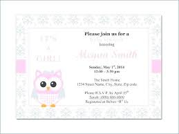 Invitation Template For Word Beauteous Free Baby Shower Invitation Templates Microsoft Word As Well As Baby