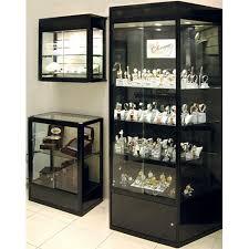 wall mounted display cabinets custom