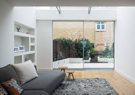 living room extension. architect amy london living room extension