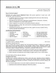 Emergency Room Rn Resume Med Surg Rn Resume Topgamers Xyz