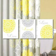 remarkable artwork for bathrooms walls yellow gray wall art live laugh love bedroom pictures flower wall art home decor flower art dahlia flower set of 3