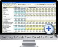 cash flow model excel excel building a cash flow model