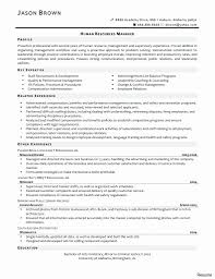 Entry Level Hr Resume Example Of Lovely Human Resource