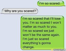 Scared To Love Quotes