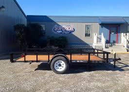 tilt trailers superior trailers nc and va flatbed and cargo 2017 texas bragg trailers 6x12p utility trailer