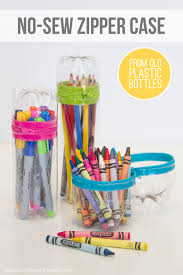 Decorate Pencil Case No Sew Zipper Cases From Plastic Bottles Sodas Will Have And