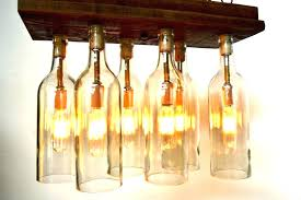 how to make a wine bottle chandelier chandeliers how to make wine bottle chandelier pottery barn
