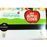 green mounn naturals hot apple cider k cups