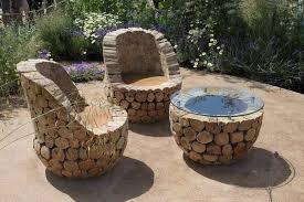 cool garden furniture. cooloutdoorfurnitureloggarden cool garden furniture