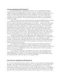 High School Application Essay Sample Nursing Admission College