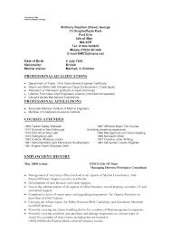 Sample Resume Marine Engineering Augustais