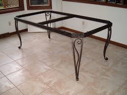 Dining Table Table Bases For Granite Tops Room Tables Round Stone