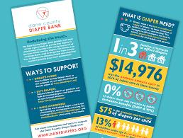 Bank Graphic Design Graphic Design Nonprofit Dane County Diaper Bank Tingalls