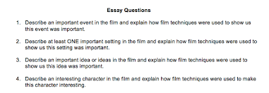 blind side essay questions