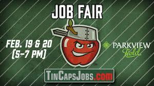 Tincaps To Host Job Fair At Parkview Field Fort Wayne