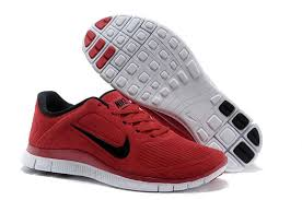 nike running shoes red. new nike free 4.0 men\u0027s running shoes - red/black red