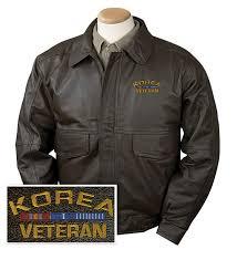 korea veteran leather jacket