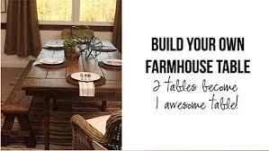 build your own rustic furniture. DIY Farmhouse Table Build Your Own Rustic Furniture N