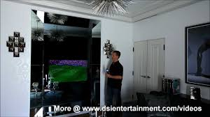 How To Hide Tv How To Hide A Tv In Plain Sight Seura Mirror Television Youtube