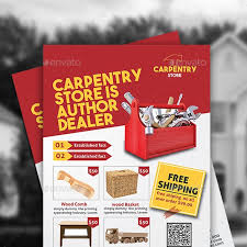 Handyman Flyer Template Magnificent Carpenter Handyman Stationery And Design Templates