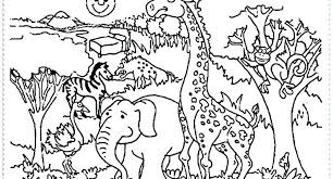 Zoo Animals Coloring Pages For Preschoolers Coloring Pages Best