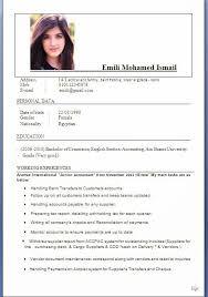 Resume Format In Usa Sarahepps Com