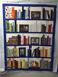Bookcase Quilt Pattern Simple Decoration