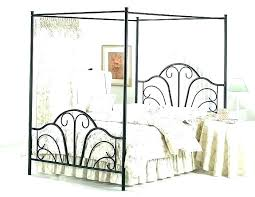 wrought iron canopy bed frame – ryan m taylor