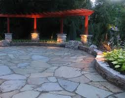 26 Awesome Stone Patio Designs For Your HomeBackyard Patio Stones