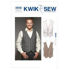 Mens Vest Sewing Pattern