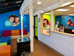 kids office. Primary Colors Brighten Up The Reception Area Of New Western Dental Kids Office In Downtown R