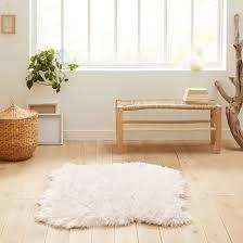 livio faux sheepskin rug la redoute interieurs image 0