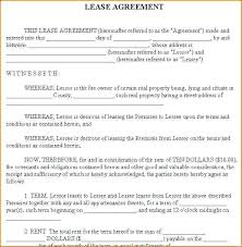Rental Lease Agreement Template Ideas Sample Ny – Cashinghotniches.info