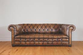 brown leather chesterfield sofa brown