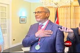 Wendell Mottley receives The Order of the Republic of Trinidad and Tobago |  CNC3