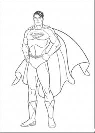 The superman character was created in 1932 (as batman), but appeared in comics 6 years later. Superman Coloring Book Coloring Home