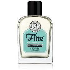 Fine Aquamarine Aftershave for West Coast Shaving