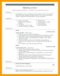 Welder Resume Sample Welding Resume Template Welder Resume Examples