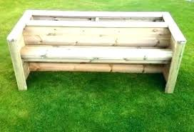 bench with planters planter benches modern house decorating design ideas wooden box plans deck storage garden bench with planters garden
