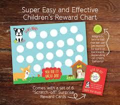 Jart Chart Magnetic Reusable Reward Chart For Children Chore Tracker