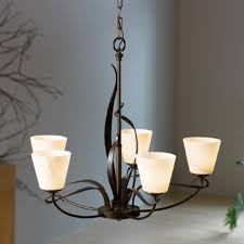 hubbardton forge flora 5 light chandelier hf 103040 with regard to inspirations 4