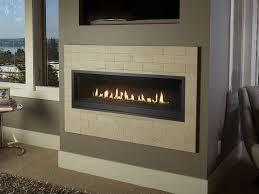 54 linear probuilder gas fireplace