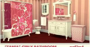"Tania"" Bathroom. Sims 4 Custom Content."