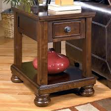 chair side end table signature design by porter item number 3 with storage